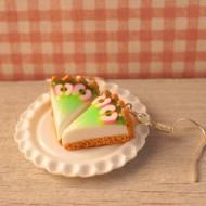 Cheesecake se zelenými jablky