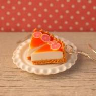 Grepový cheesecake