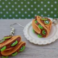 Crepes s kiwi a čokoládou