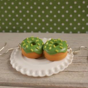 Zelené donuty