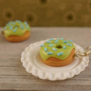 Zeleno-modré donutky