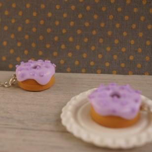 Fialové donutky