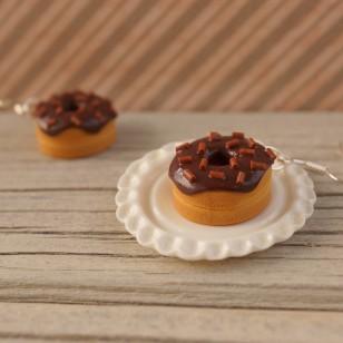 Čokoládové donutky