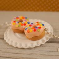 Meruňkové puntíkované donuty
