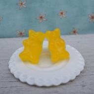 Žlutí gumídci-puzetky