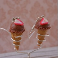 Čokoládové kopečkové zmrzlinky