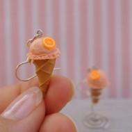 Pomerančové kopečkové zmrzlinky