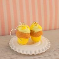 Citronové muffiny s krémem