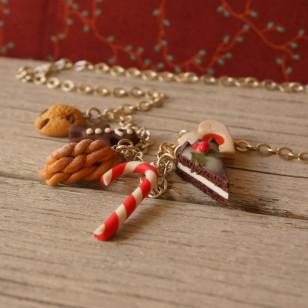 Vánoční náhrdelník