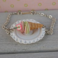 Náramek - jablková zmrzlina