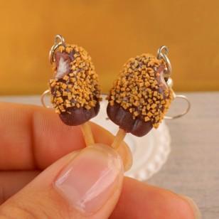 Luxusní oříškovo-čokoládové nanuky
